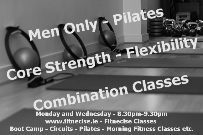 Mens Pilates and Core Strength Exericise Classes in South Dublin, Rathfarnahm Dundrum Marlay Park Chruchtown area with Martin Luschin Fitnecise Coaching