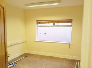 work in progress Treatment Therapy Room Fitnecise Studio in South Dublin Chruchtown October  2012