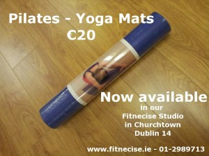 Buy Pilates Yoga Exercise Mats for sale in South Dublin Churchtown Dublin 14 Fitnecise Studios
