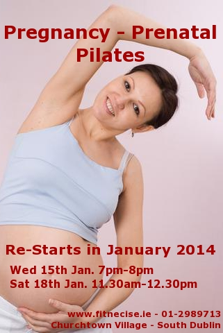 January February 2014 Pregnancy Prenatal Maternity Fitness and Exercise Classes in South Dublin Churchtown Dublin 14 Dublin 16