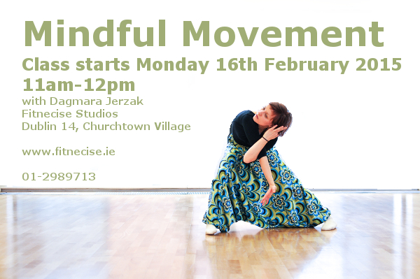 Mindful Movement Pilates Yoga Classes with Dagmara Jerzak Pilates Instructor Contemporary Dance Artist South Dublin, Fitnecise Studios, Churchtown Village, D14